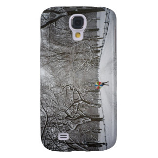 The Mall in Winter, Central Park, New York City Samsung Galaxy S4 Case