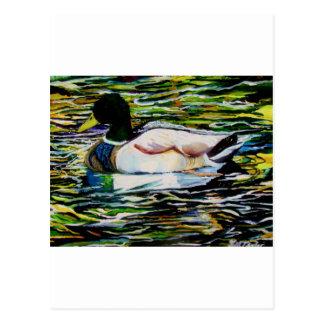 The Mallard Postcard