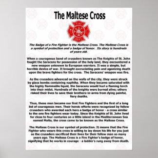 The Maltese Cross Poster
