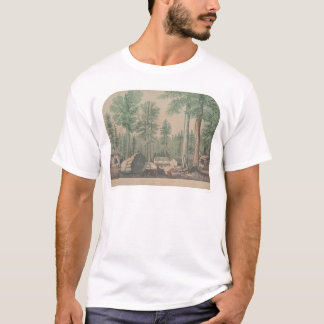 The Mammoth Trees of California (1191) T-Shirt