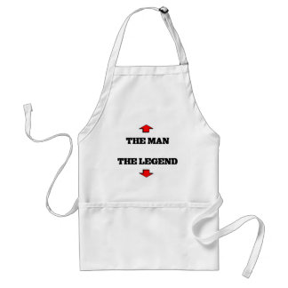 The man adult apron