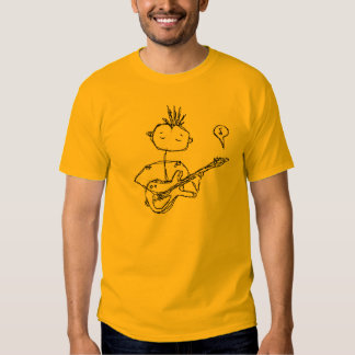 the man and his guitar tshirt