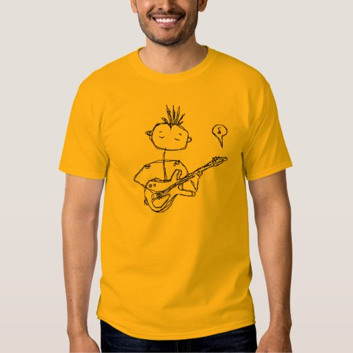 the man and his guitar Tshirt