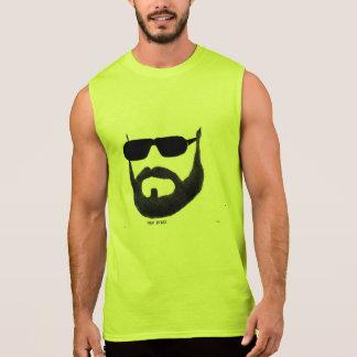 The Man Beard Men's Ultra Cotton Sleevele by:da'vy Sleeveless T-shirt