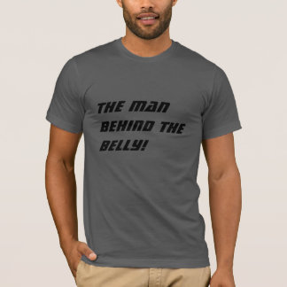 The man behind the belly, Cool dad to be shirt