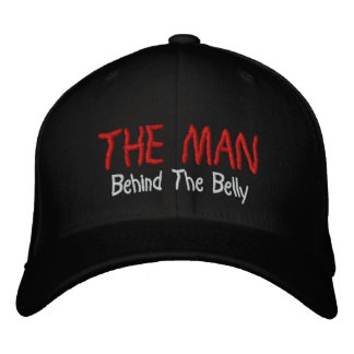 The Man Behind The Belly Embroidered Cap