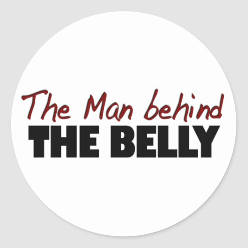The Man Behind The Belly Stickers