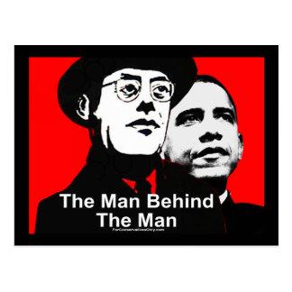 The Man Behind The Man - Saul Alinsky Postcard