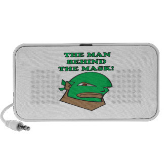 The Man Behind The Mask Portable Speaker