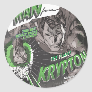 The Man from Krypton Classic Round Sticker