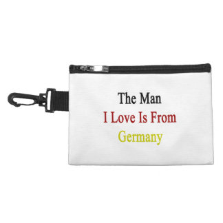 The Man I Love Is From Germany Accessories Bag