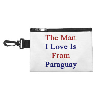 The Man I Love Is From Paraguay Accessories Bags