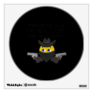 The Man In Black Is Back Room Graphic