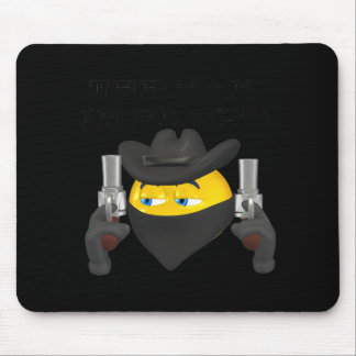 The Man In Black Mouse Pad