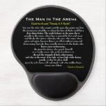 The Man In The Arena Gel Mousepad