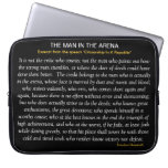 THE MAN IN THE ARENA Laptop Sleeve