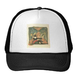 The man in the carriage by Walter Gramatte Trucker Hat