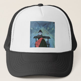 The man in the carriage II by Walter Gramatte Trucker Hat