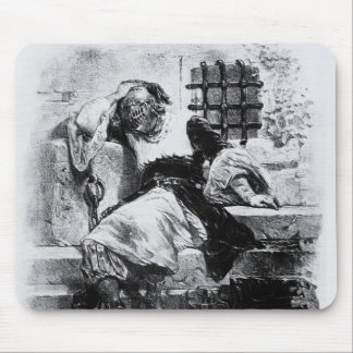 The Man in the Iron Mask in his Prison Mouse Pad