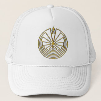 The Man in the Maze - gold Trucker Hat