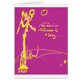 The Man in the Moon Card