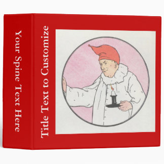 The Man in the Moon looked out of the moon 3 Ring Binder