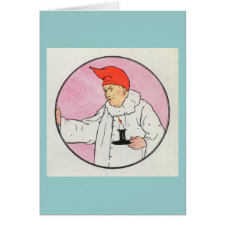 The Man in the Moon looked out of the moon Card