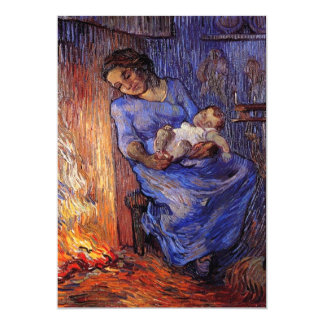The Man is at Sea after Demont-Breton by van Gogh Card