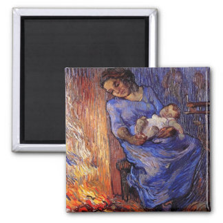 The Man is at Sea after Demont-Breton by van Gogh Magnet