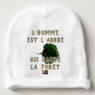The Man is the Tree which Gâche the Forest Baby Beanie