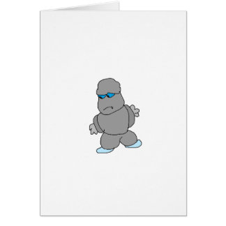 The Man made of Rocks Greeting Cards
