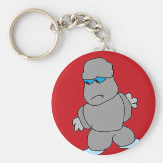 The Man made of Rocks Keychain