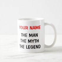 The man myth legend mug for 60th Birthday men