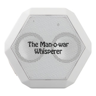 the man o war whisperer white boombot rex bluetooth speaker