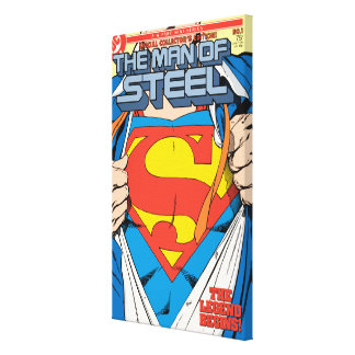 The Man of Steel 1 Collector s Edition Stretched Canvas Print