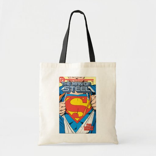 The Man of Steel #1 Collector's Edition Tote Bag