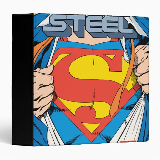 The Man of Steel #1 Collector's Edition Binder