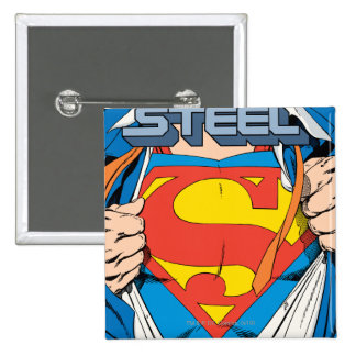 The Man of Steel #1 Collector's Edition Button