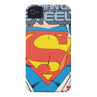 The Man of Steel #1 Collector's Edition iPhone 4 Case-Mate Cases