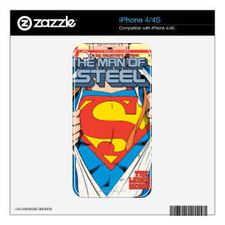 The Man of Steel #1 Collector's Edition iPhone 4 Skin