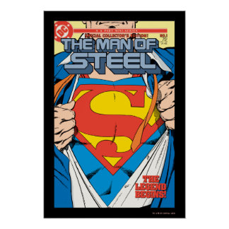 The Man of Steel #1 Collector's Edition Poster
