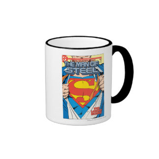 The Man of Steel #1 Collector's Edition Ringer Mug