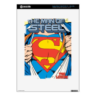 The Man of Steel #1 Collector's Edition Skins For iPad 3