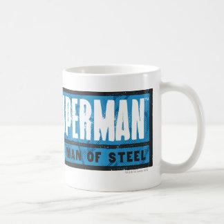 The Man of Steel Coffee Mugs