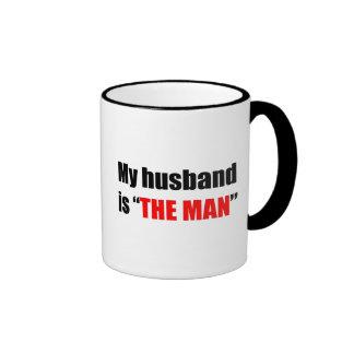 The Man Ringer Coffee Mug