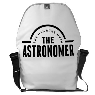 The Man The Myth The Astronomer Messenger Bags