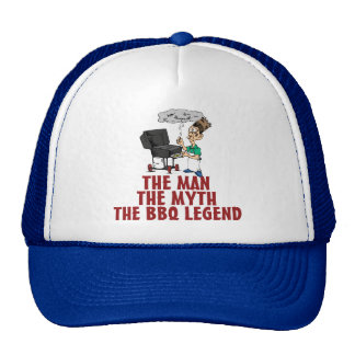 The Man, The Myth, The BBQ Legend Trucker Hat