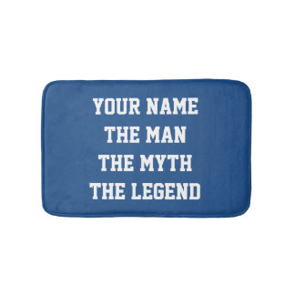 The man the myth the legend non slip bath mat bath mats