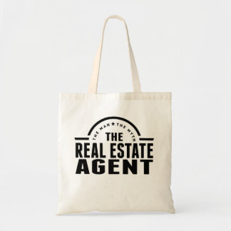 The Man The Myth The Real Estate Agent Budget Tote Bag