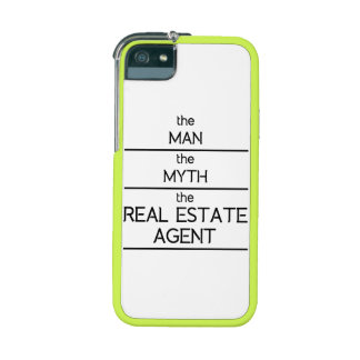 The Man The Myth The Real Estate Agent iPhone 5 Case